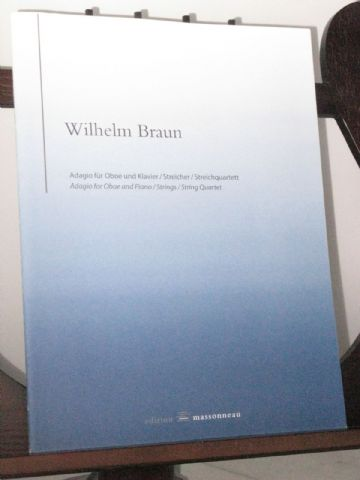 Braun W - Adagio for Oboe & Piano (or String Quartet)